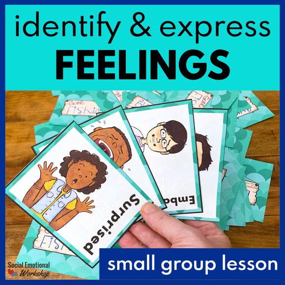 Small Group SEL Lesson on Feelings - Social Emotional Workshop