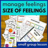Small Group SEL Lesson - Size of Feelings