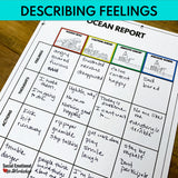 Small Group SEL Lesson - Size of Feelings - Social Emotional Workshop