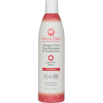 Allergen Free Hot Spot Dog Shampoo & Conditioner