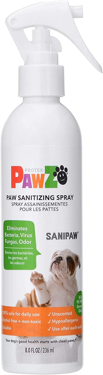 Dog Paw Sanitizer Spray
