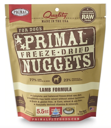 Freeze Dried Nuggets - Lamb