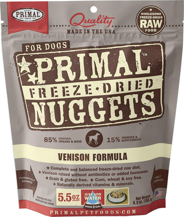 Freeze Dried Nuggets - Venison