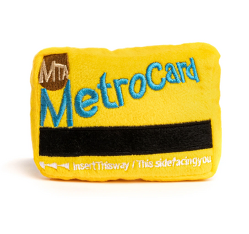 Metro Card Plush Toy