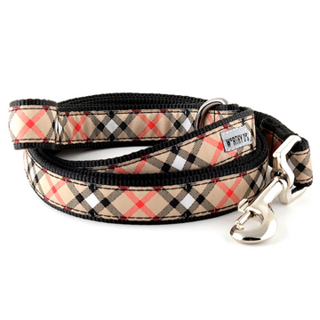 Plaid Tan Lead Collection