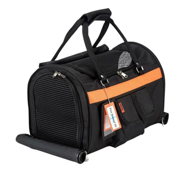 Hideaway Duffel - Black Orange
