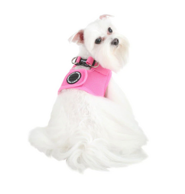 Soft Vest Harness - Pink