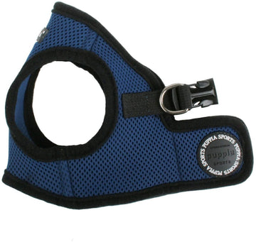 Soft Vest Harness - Navy Blue