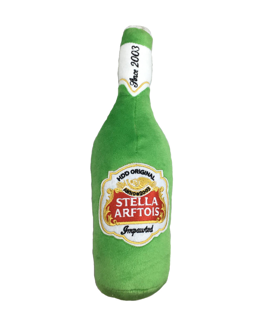 Stella Arftois Beer Bottle Plush Toy