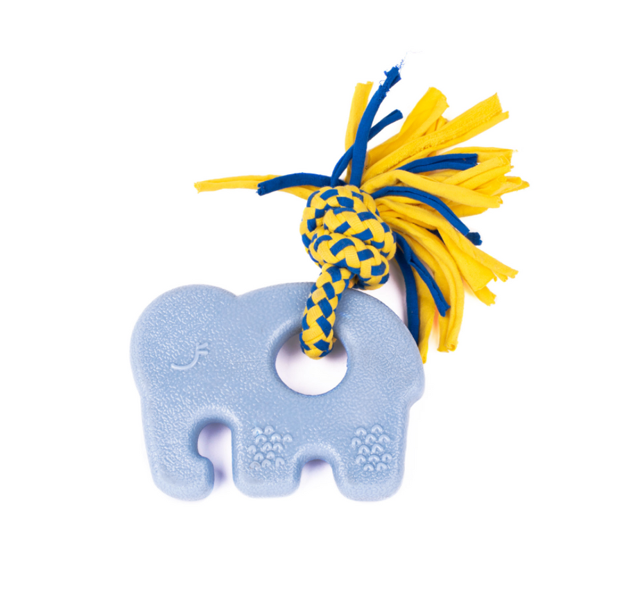 ZippyTuff Teether Toy - Elephant