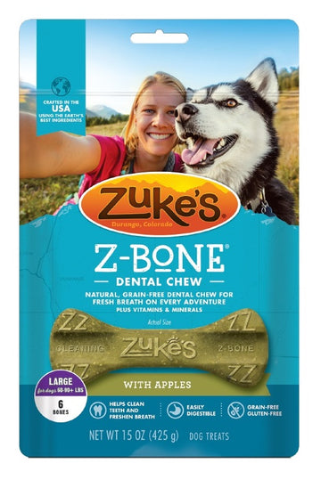 Z-Bone Dental Chew - Clean Apple Crisp