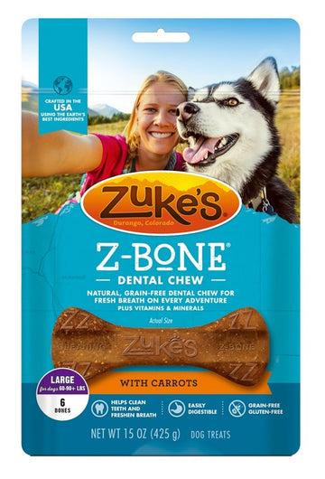 Z-Bone Dental Chew - Clean Carrot Crisp