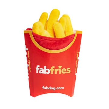 French Fries Super-Squeaker Toy