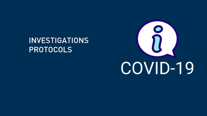 Coronavirus disease (COVID-19) technical guidance: Early investigations protocols