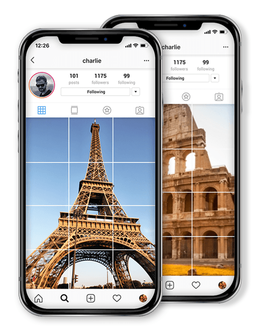Customize your Instagram grid