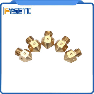 Mk8 nozzle .4mm 5 pack