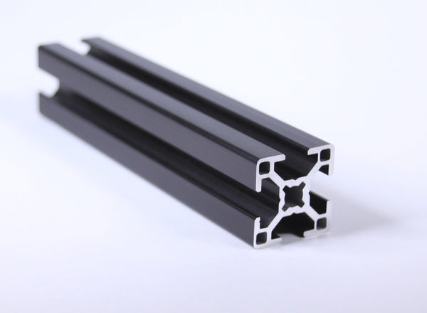 3030 Black Annodized Aluminum Extrusion