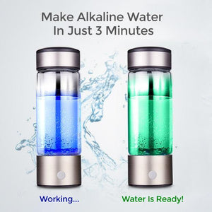 Juno™ Portable Water Ionizer Alkaline Water Generator (37% OFF)