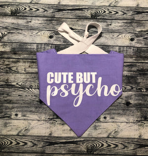 Cute but Psycho Pet Bandana