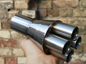 BMW K100/ K1100 Cafe Racer Exhaust Collector 4 to 1
