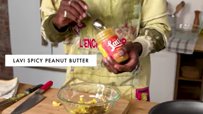 Lavi Spicy Peanut Butter Featured on Bon Appetit! Get The Recipe