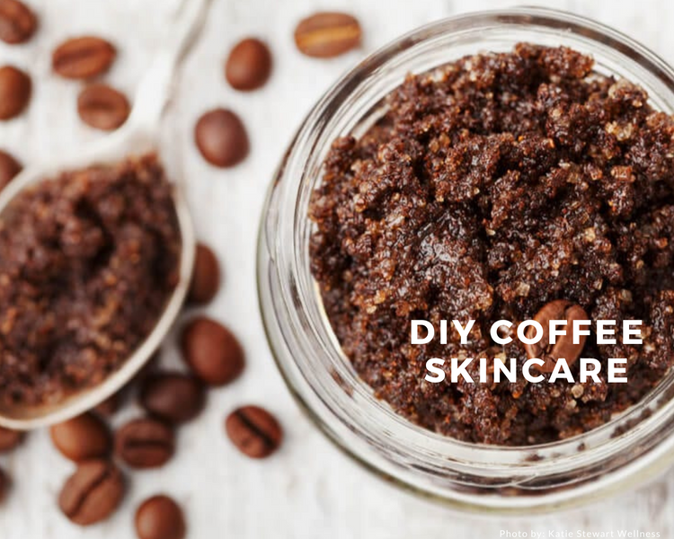 50 Creative Ways to Use Coffee From Skincare To Cocktails Series: Coffee Spa Day with 3 Ingredients or Less!