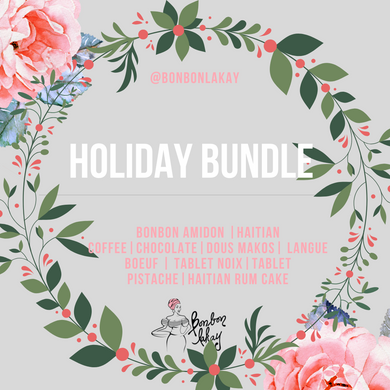 Bonbon Lakay Sampler Package - Holiday Bundle - Bonbon Lakay