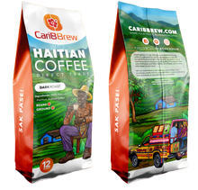 Load image into Gallery viewer, Caribbrew Haitian Coffee - Dark Roast