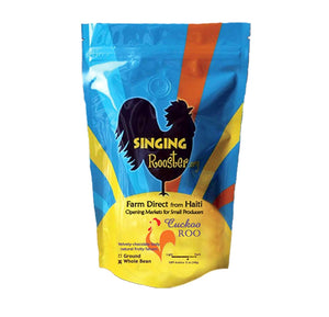 Singing Rooster - Premium Haitian Coffee - Whole Bean - Bonbon Lakay