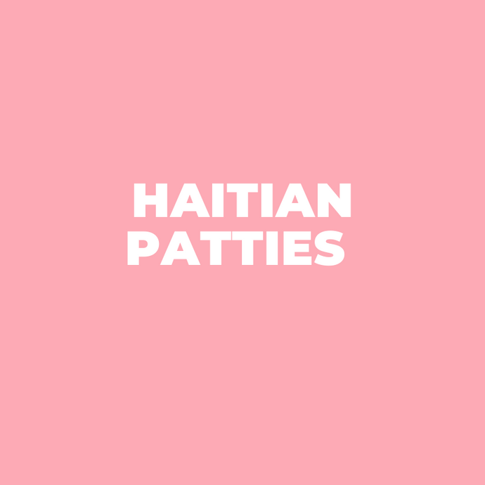 Haitian Patties - One Dozen - Shipping week of February 1st, 2021 - Bonbon Lakay