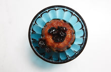 "Load image into Gallery viewer, Haitian Rum Cake - Box of 4 - Mini 3"" 4oz Cakes"