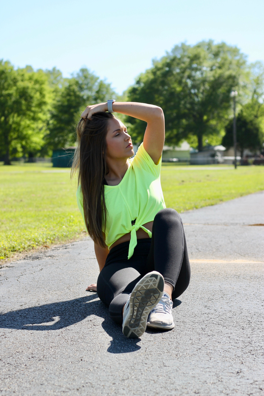 Neon Yellow Crop