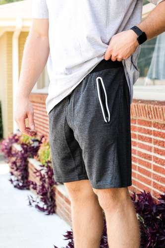 Men's Shorts w Zip Pockets