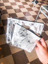 Load image into Gallery viewer, Marble Cosmetic Bag Set