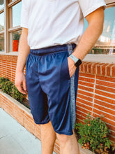 Load image into Gallery viewer, Navy Gym Shorts