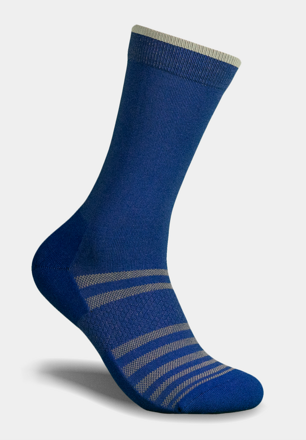 All-Day Performance Dress Sock  -  Blue