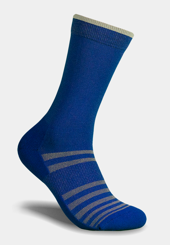 All-Day Performance Dress Sock - Grey