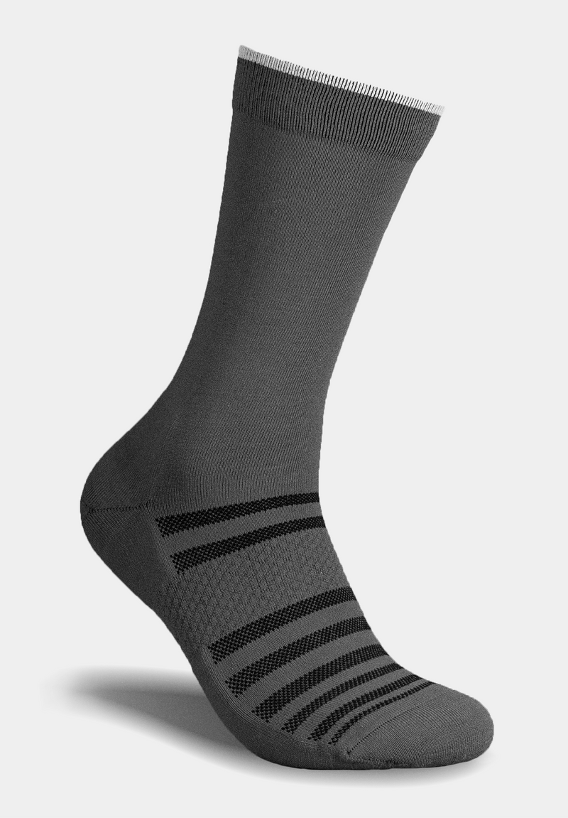 ALMI All Day Performance Dress Sock Grey