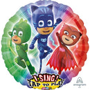 Helium Foil Themed Singer Balloon PJ Masks