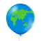 Helium balloon Earth