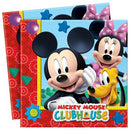 Napkins Mickey Mouse Party