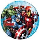 Avengers in the plate 8 pcs