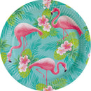 Flamingo in the plate 8 pcs