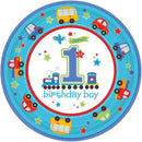 In the plate All Aboard Birthday 8 pcs