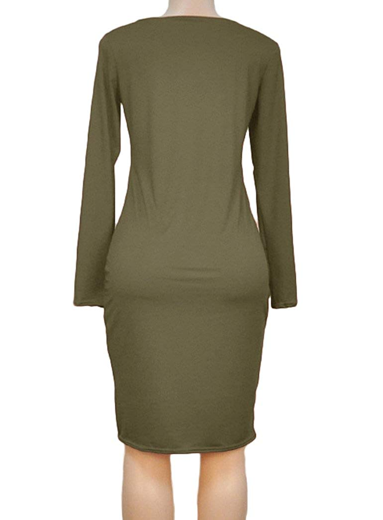 ee20ca5b29 Women s Winter Plus Size Strapless Long-Sleeved Bodycon Stretch Club ...