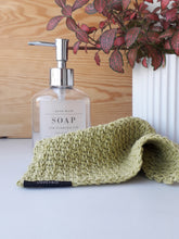 Load image into Gallery viewer, Handmade Crochet Washcloth in Recycled Cotton