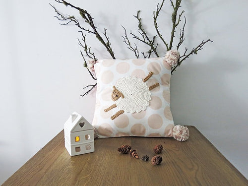 Pillowcase Woodland Friends - Sheep