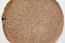 Load image into Gallery viewer, Basket/ Tray Boho Natural - L