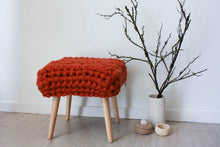 Load image into Gallery viewer, Chunky Sheep Stool - Brick Orange