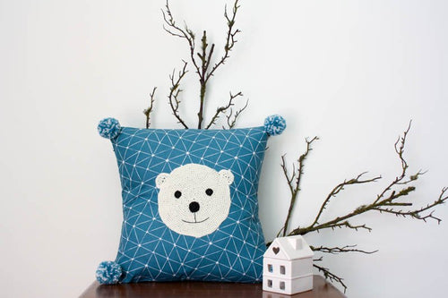 Pillowcase Woodland Friends - Polar Bear